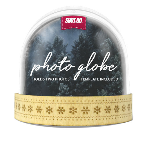 SHOT2GO Snowglobe Wood